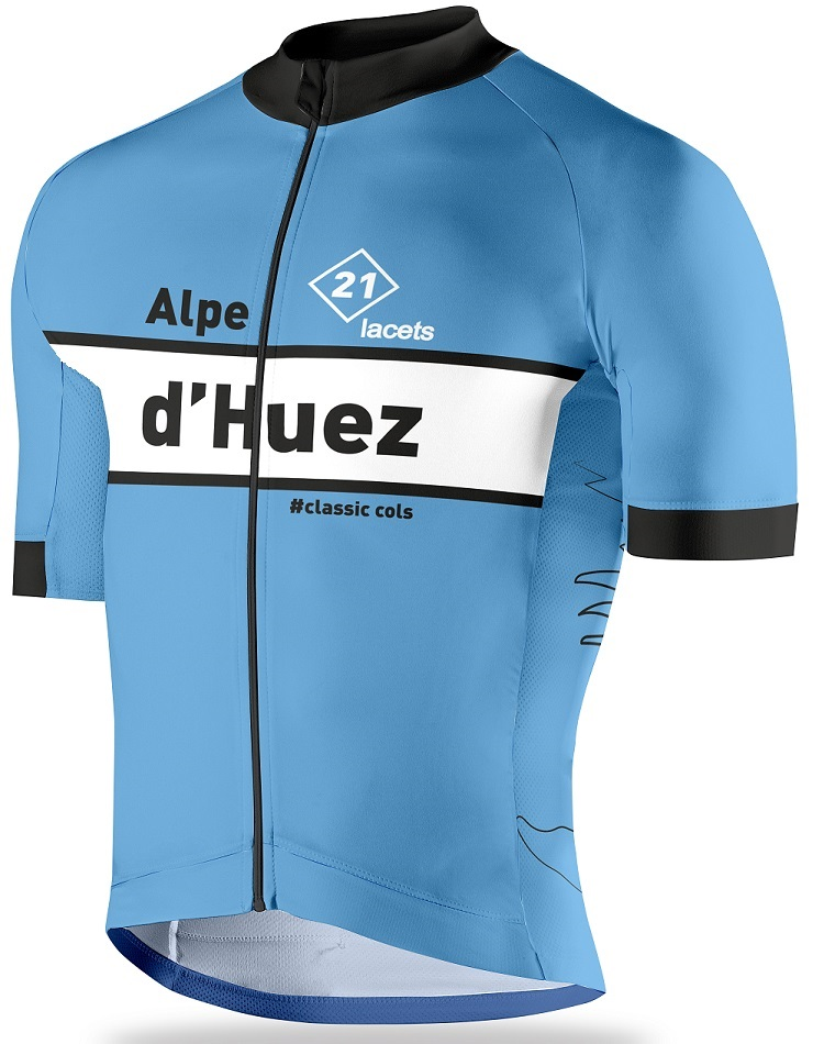 Alpe d'Huez, cycling jersey, maillot