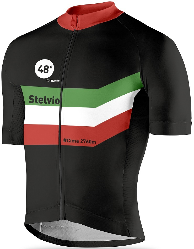 Stelvio Pass cycling jersey