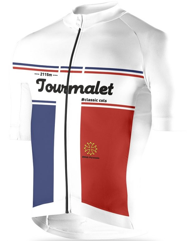 Tourmalet, cycling jersey, maillot