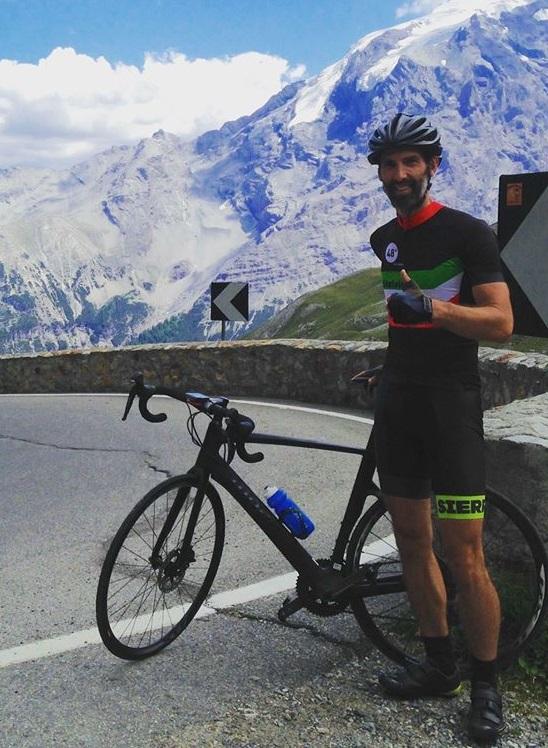 Stelvio Pass cycling jersey
