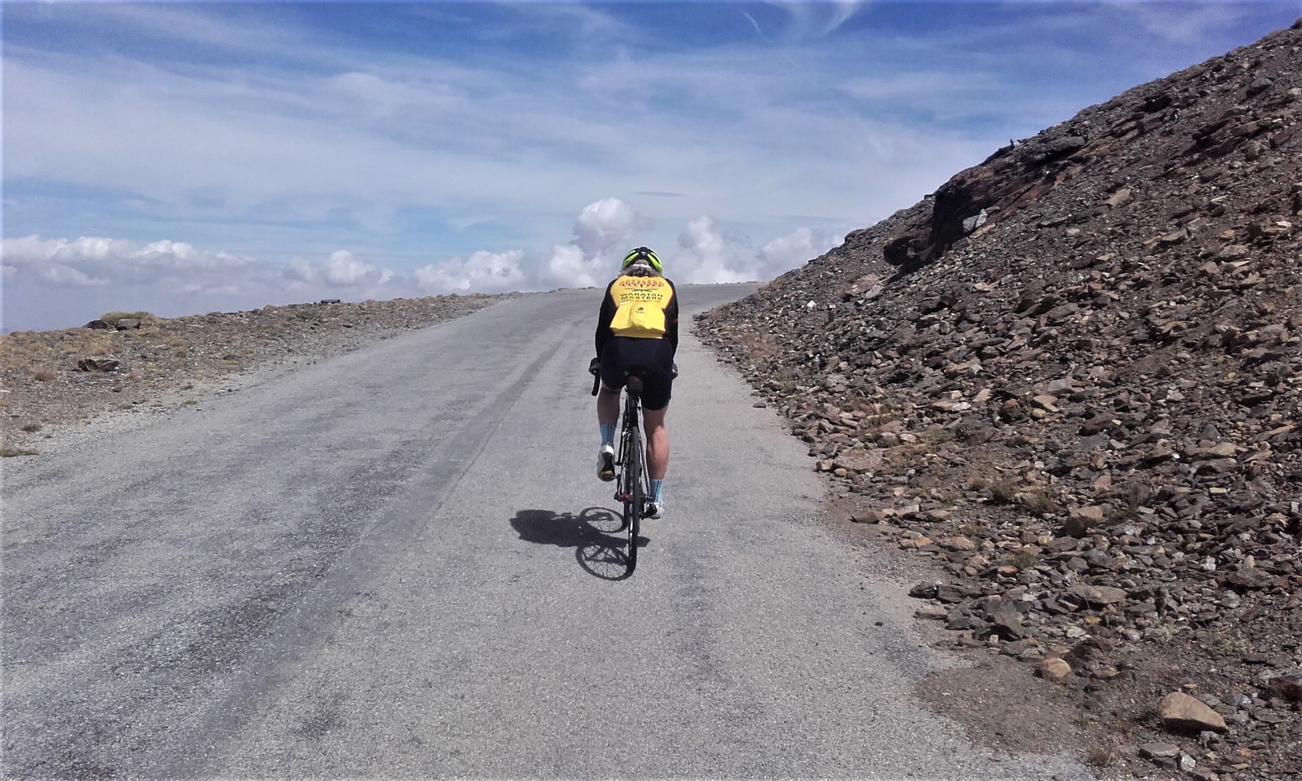 Riding Pico de Veleta from Pradollano ski station