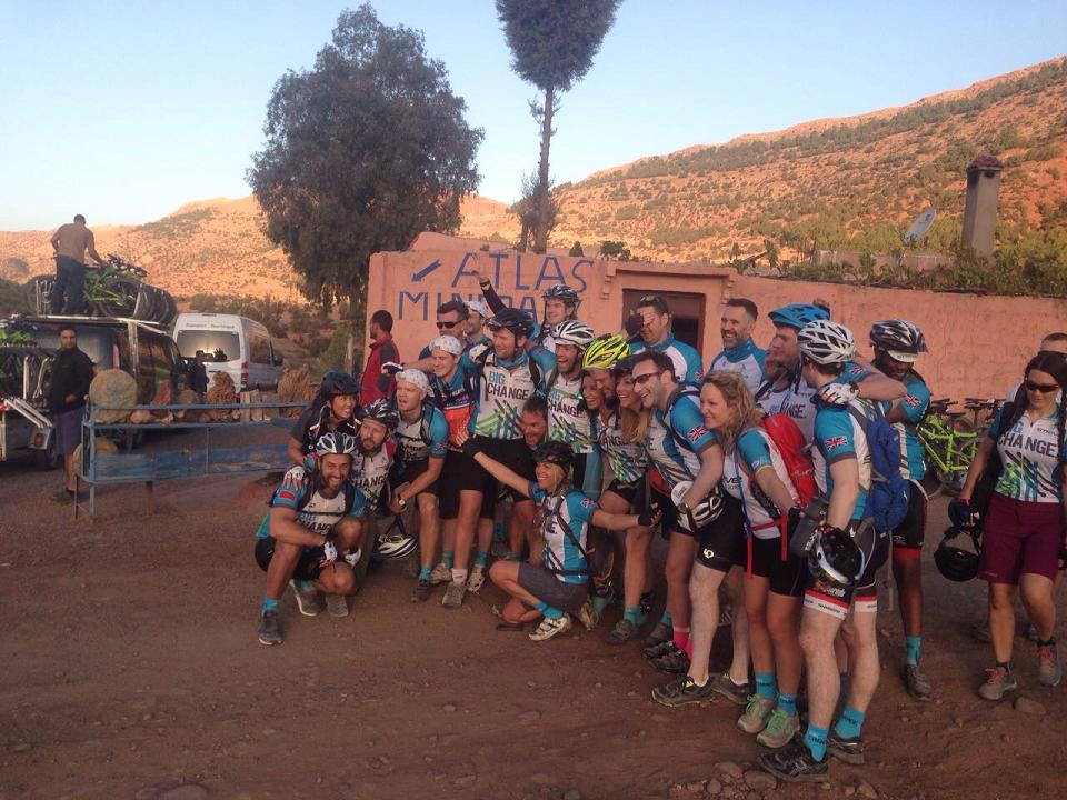 Morocco cycling tours, cycling the Atlas Mountains, Morocco on Mountain Bikes