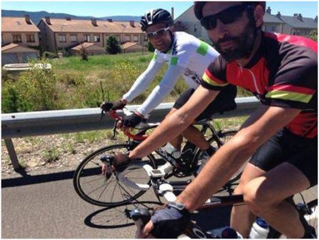 Cycling with the legend Miguel Indurain