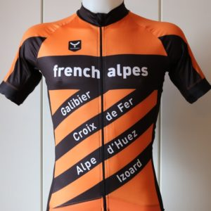 French Alpes, Cycling Jerseys, Maillots