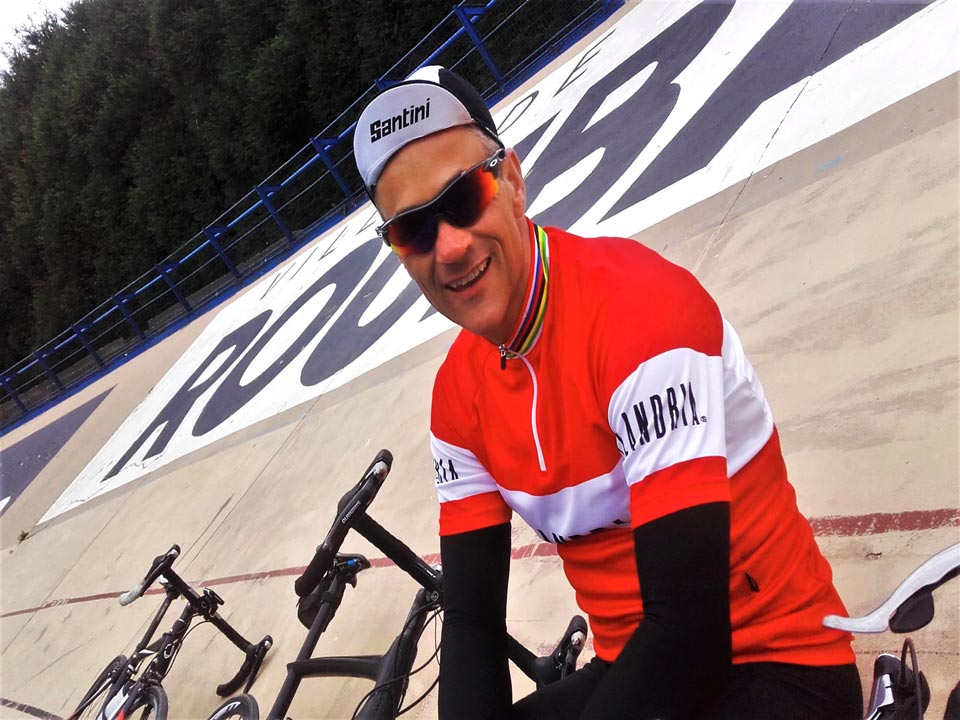 The joy of cycling the Roubaix Velodrome
