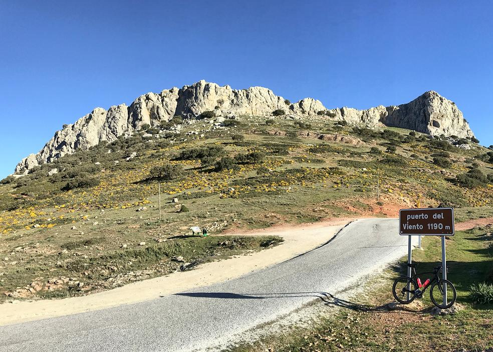 Puerto del Viento, Ronda, Cycling Tours, Andalusia