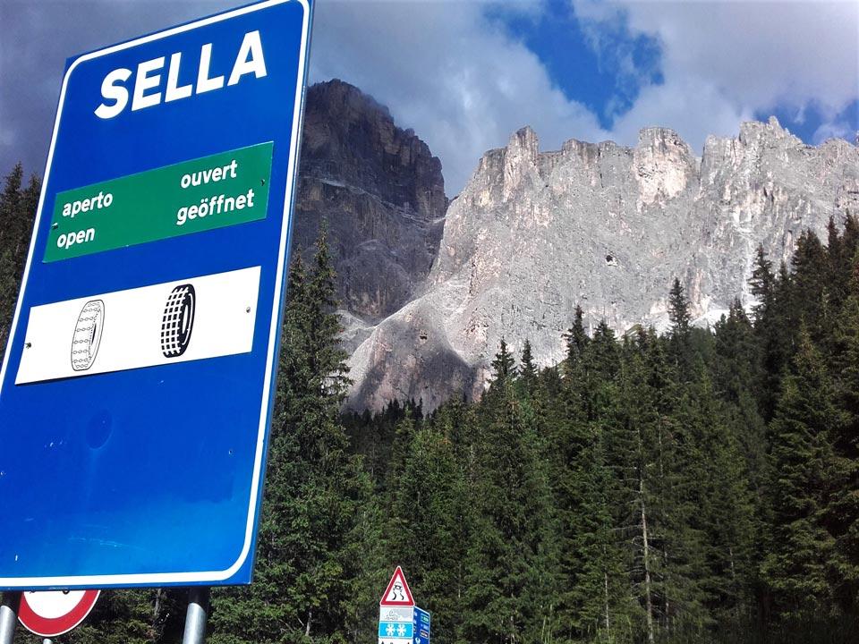 Passo Sella, one of the Sella Ronda climbs