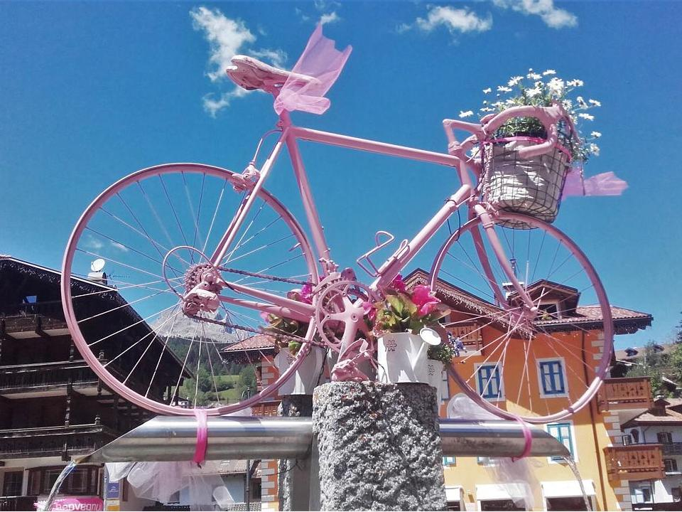 Pretty in pink at the Giro d'Italia