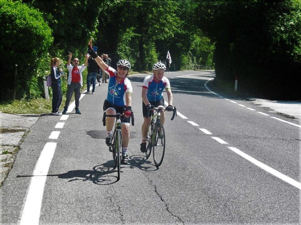 Winning smiles at the Giro d'Italia