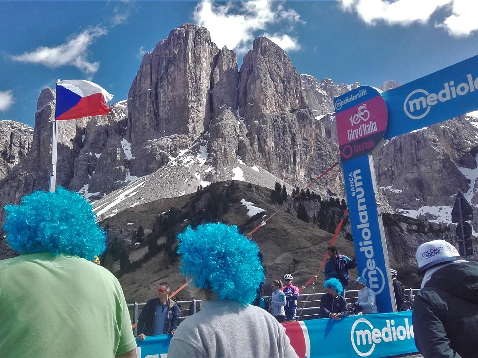 Watching the Giro up close in the Dolomites