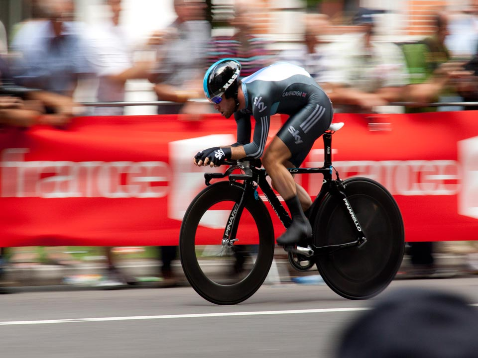 Individual Time Trial at the European Grand Tour Cycling Races