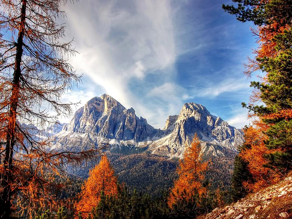 Dolomites and its picturesque peaks