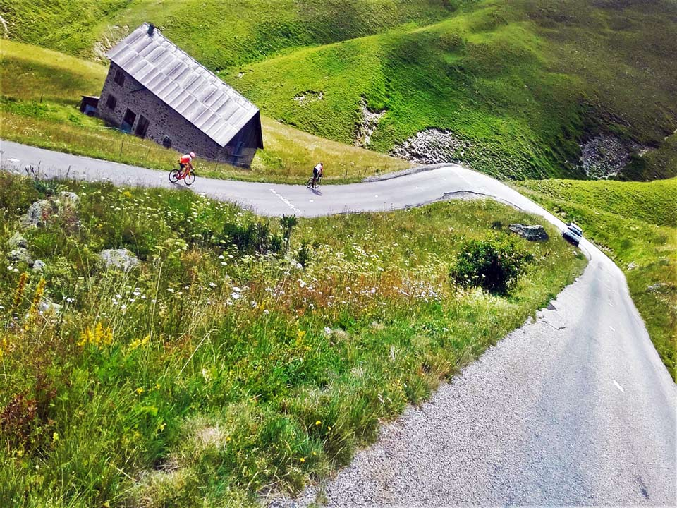 The Pyrenees roads are a cycling paradise