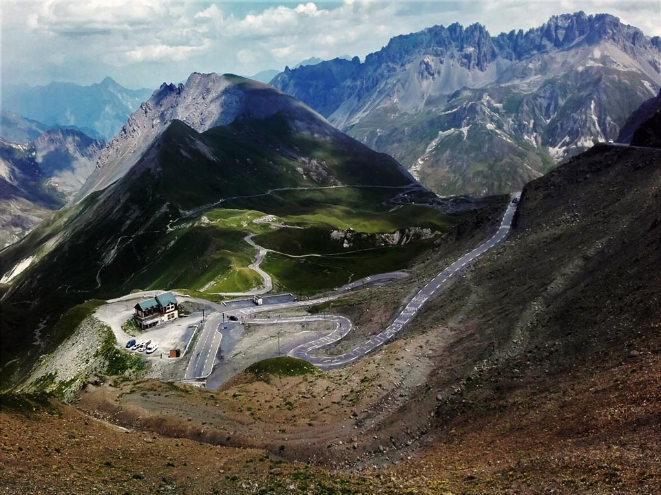 Galibier is one of the big mountain passes