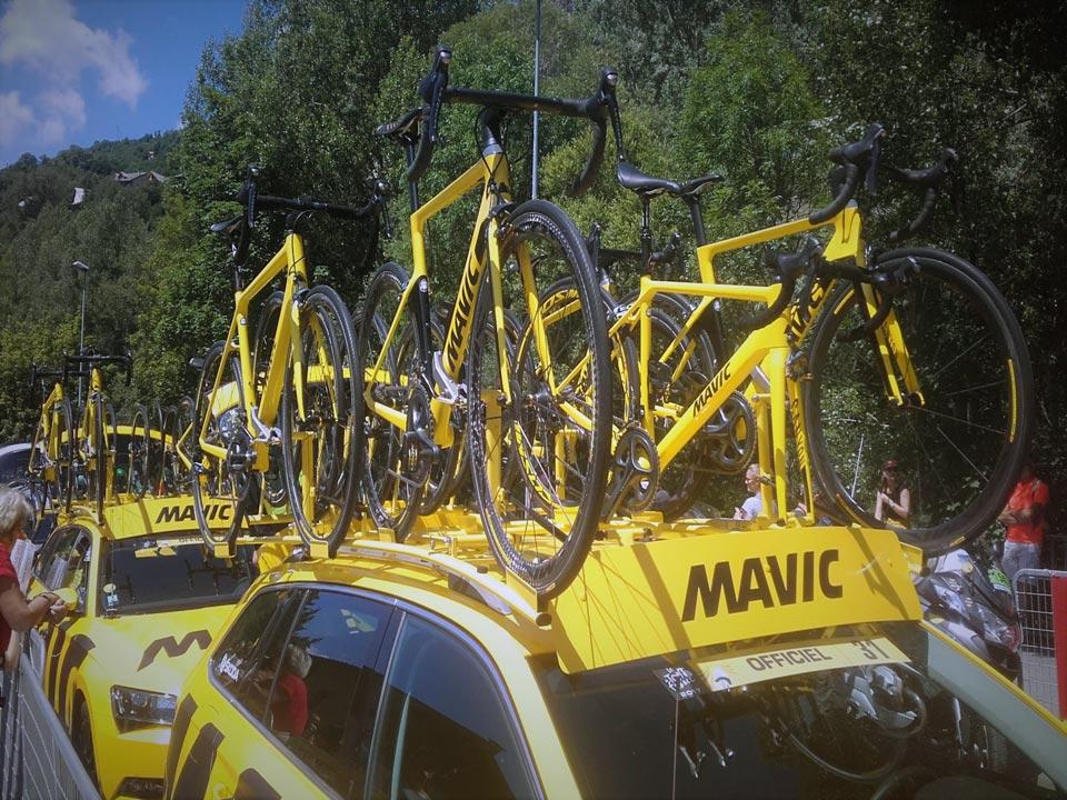 Mavic and the Tour de France