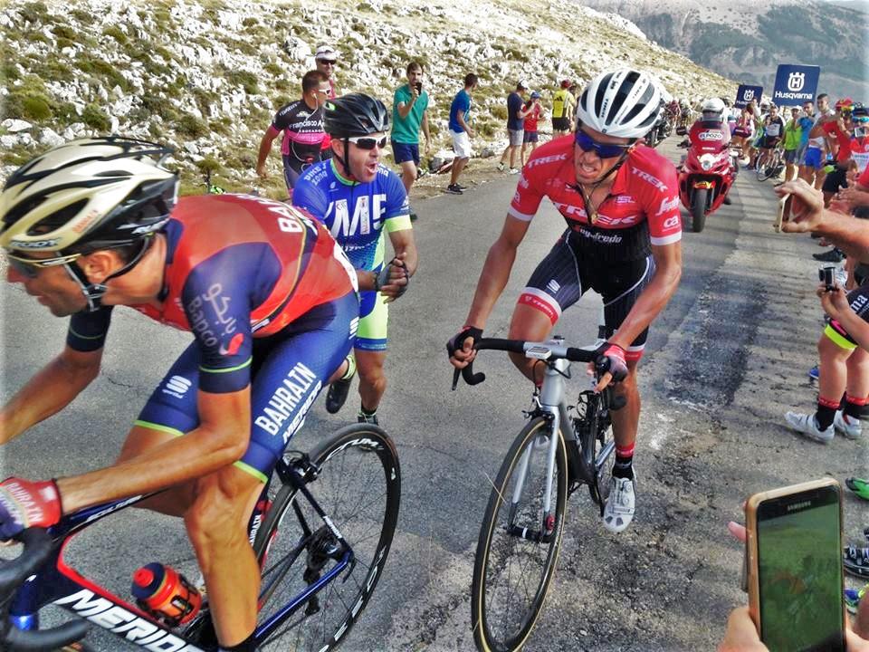 Albertoi Contador and Vincenzo Nibali in a final showdown at La Vuelta
