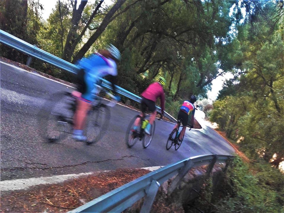 Riding through the Grazalema mounatins