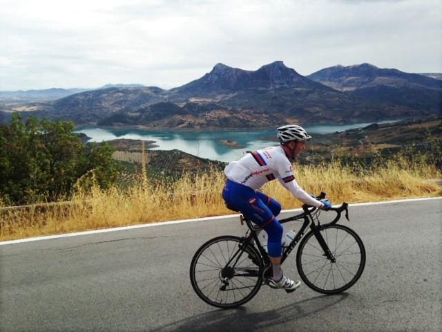 Zahara de la Sierra, Puerto de las Palomas, Costa del Sol, Paella, Black Rice, Marbella, Ronda, Andalusia, Andalucia, Spain, Cycling Tours