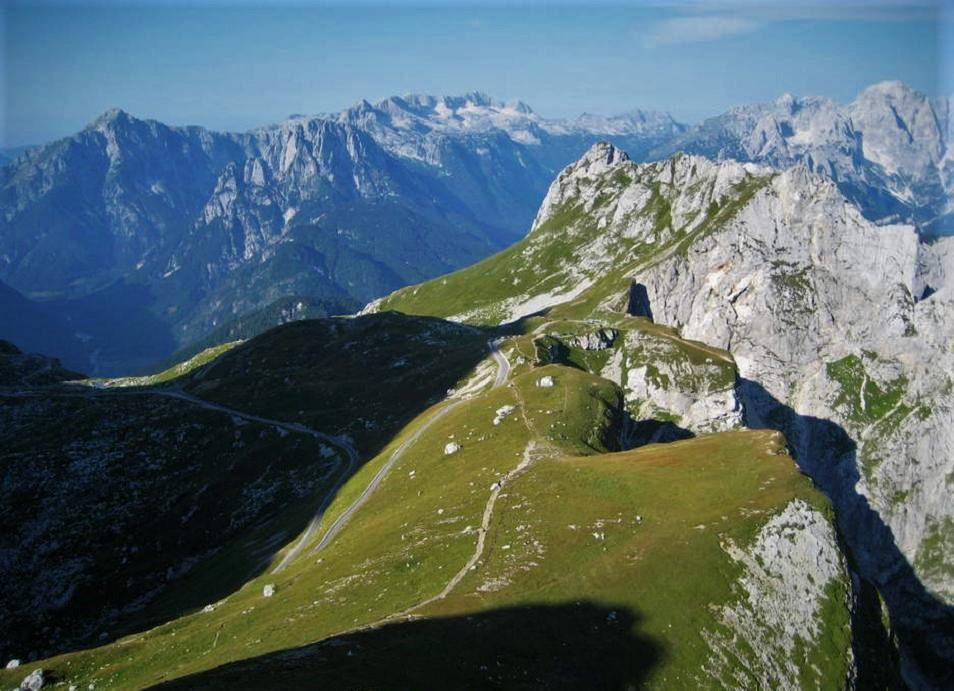 Riding to Mangart Saddle, Slovenia, Cycling Tours