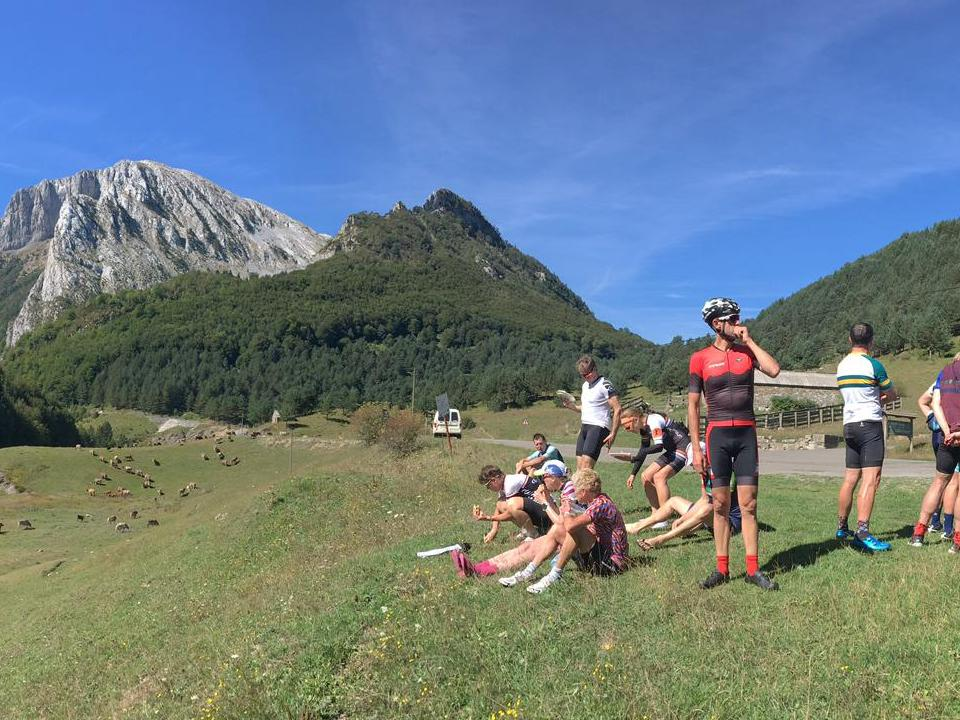 Lunch time in the Pyrenees