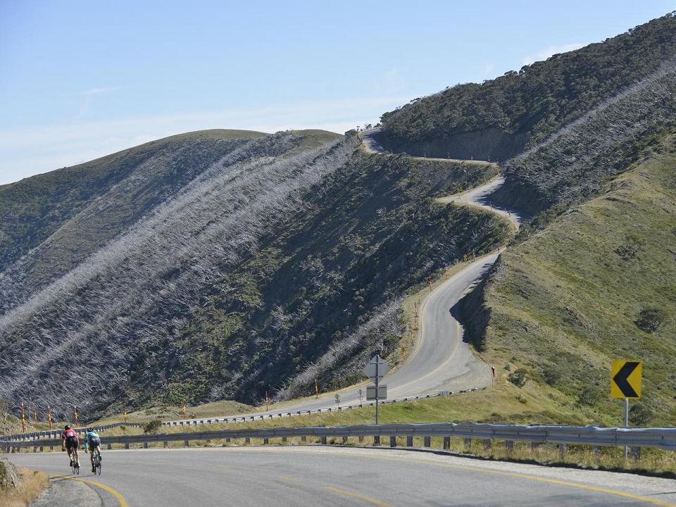 Cycling Mt Hotham