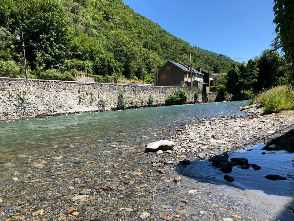 Mountain streams in the French Pyrenees