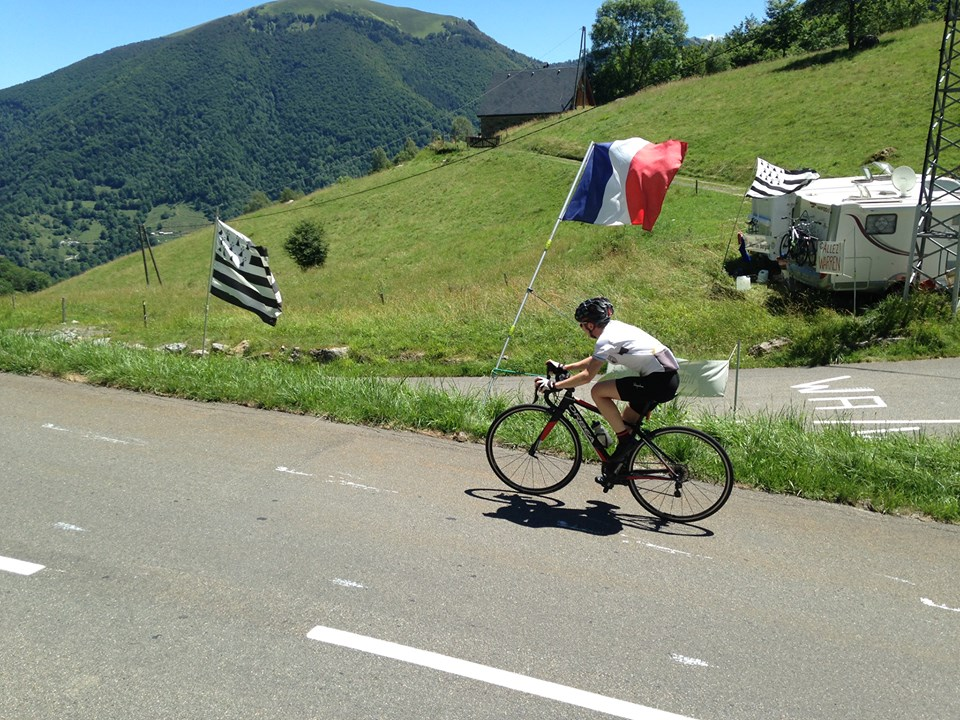 Cycling through the French Pyrenees (Saint Girons)
