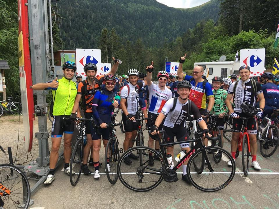 Cycling to Col du Portillon at the Tour de France (Spanish / French Pyrenees)