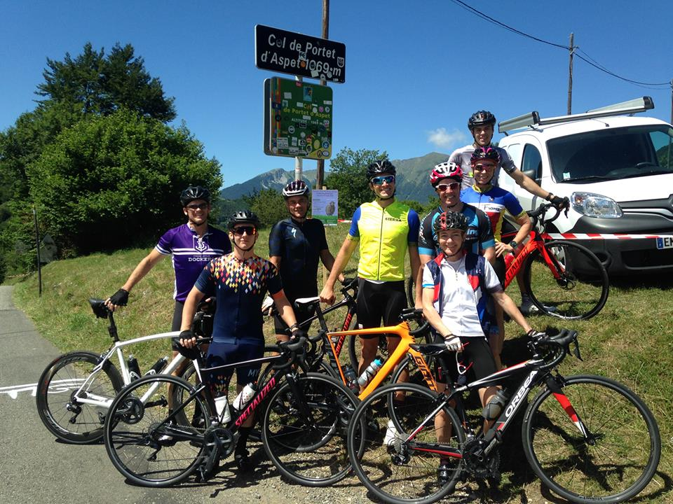 Col de Portet d'Aspet and cycling the French Pyrenees