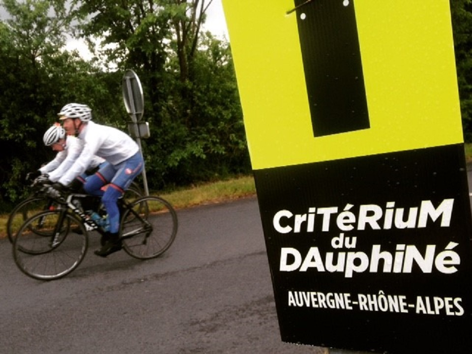 Cycling at the Criterium du Dauphine