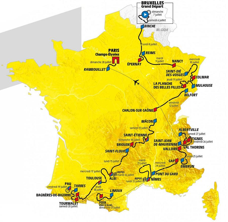 Le Grand Depart at the Tour de France