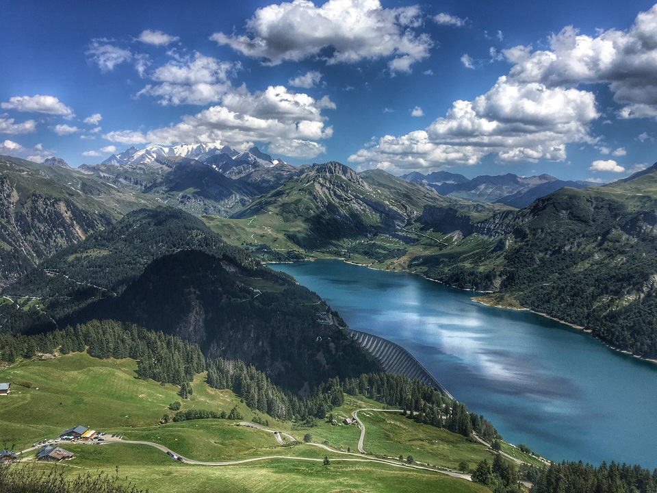 Cormet de Roselend and Lake Annecy road cycling
