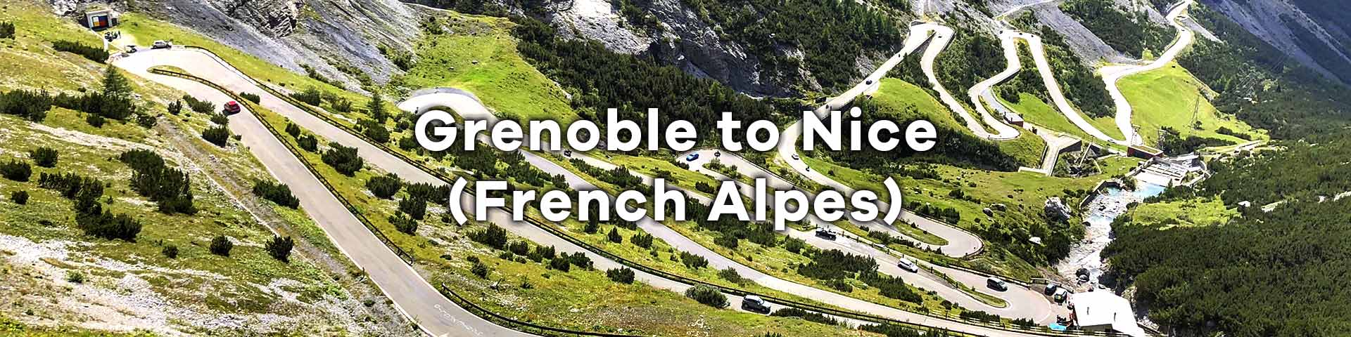 Grenoble to Nice Cycling Tour