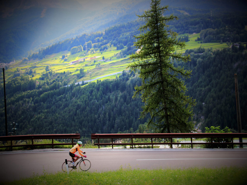 Time to ride the European Alpes