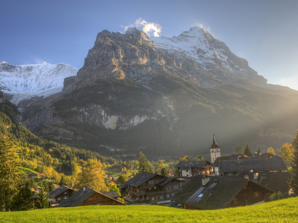 The beauty of the Swiss Alpes
