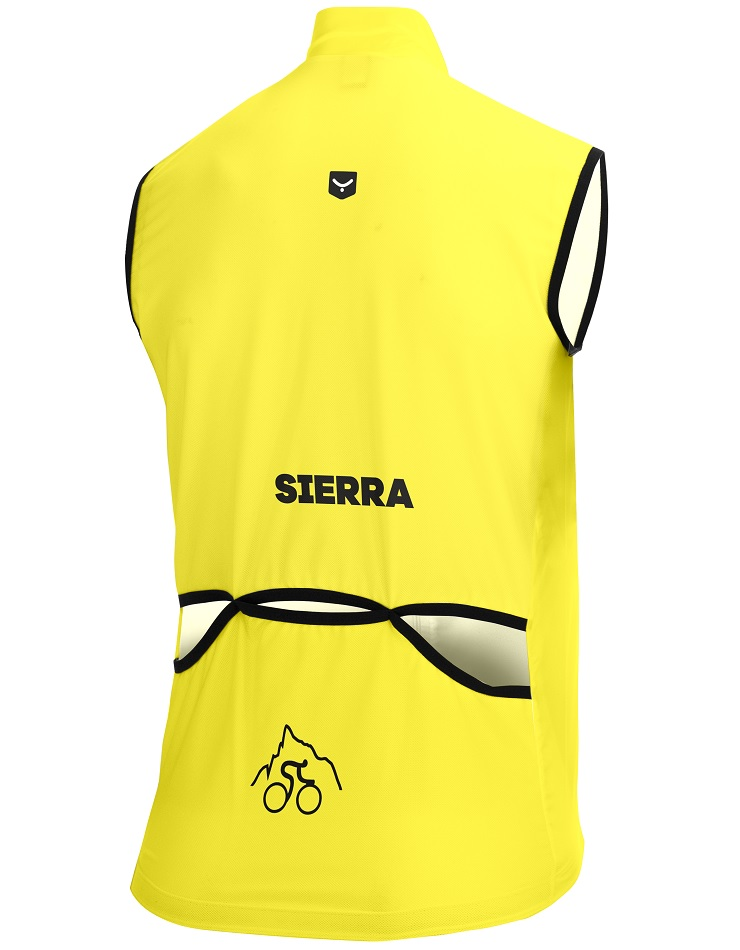 Sierra cycling wind vest