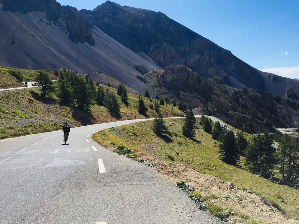Beautiful ride from Briancon up to Col d'Izoard