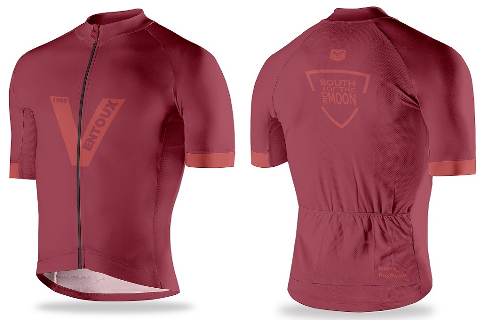 Exclusive Mont Ventoux cycling jersey