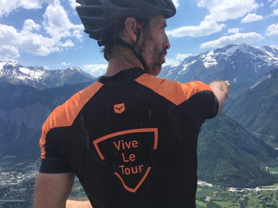Vive le Tour with our French Alps cycling jersey