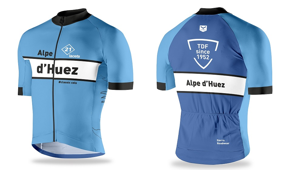 Exclusive Alpe d'Huez cycling jersey