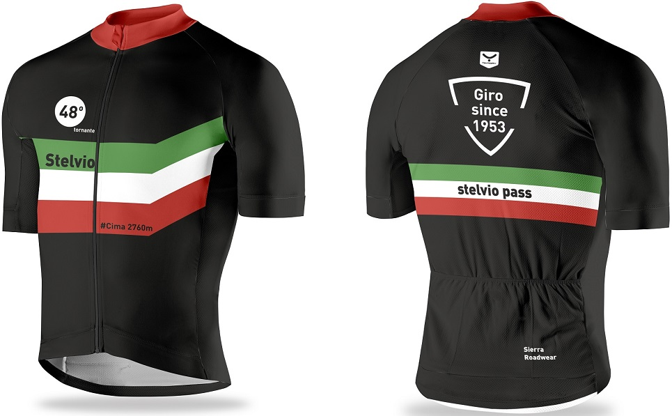Wear a piece of the Stelvio Pass today