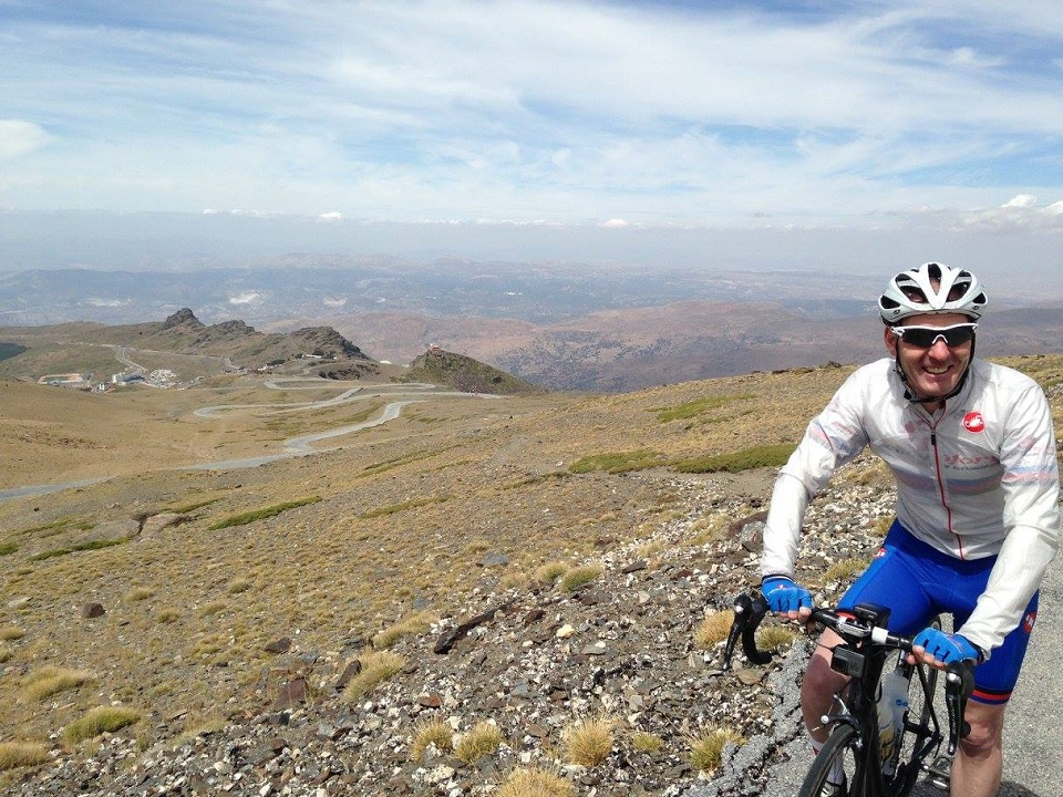 Pico de Veleta in the Spanish Sierra Nevada is a cycling paradise