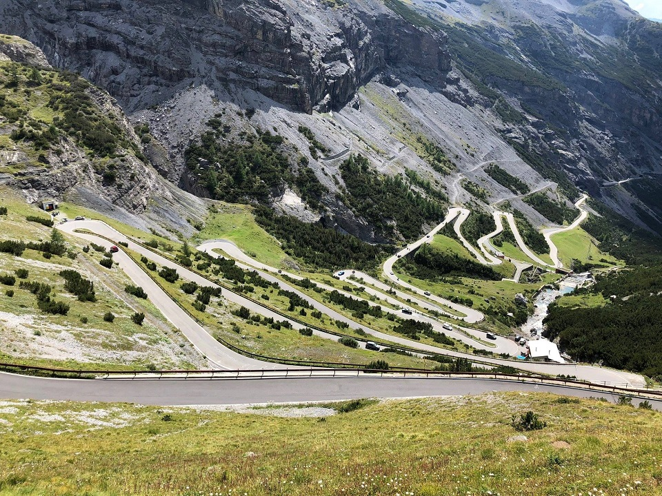 Cycling Passo Fedaia from the Sottoguda canyon is a tough proposition in the Dolomites