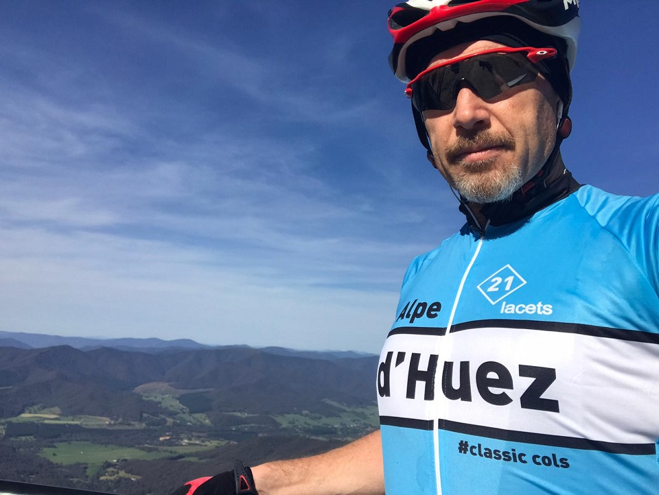 A taste of Alpe d'Huez on the Mount Buffalo summit in the Victorian High Country