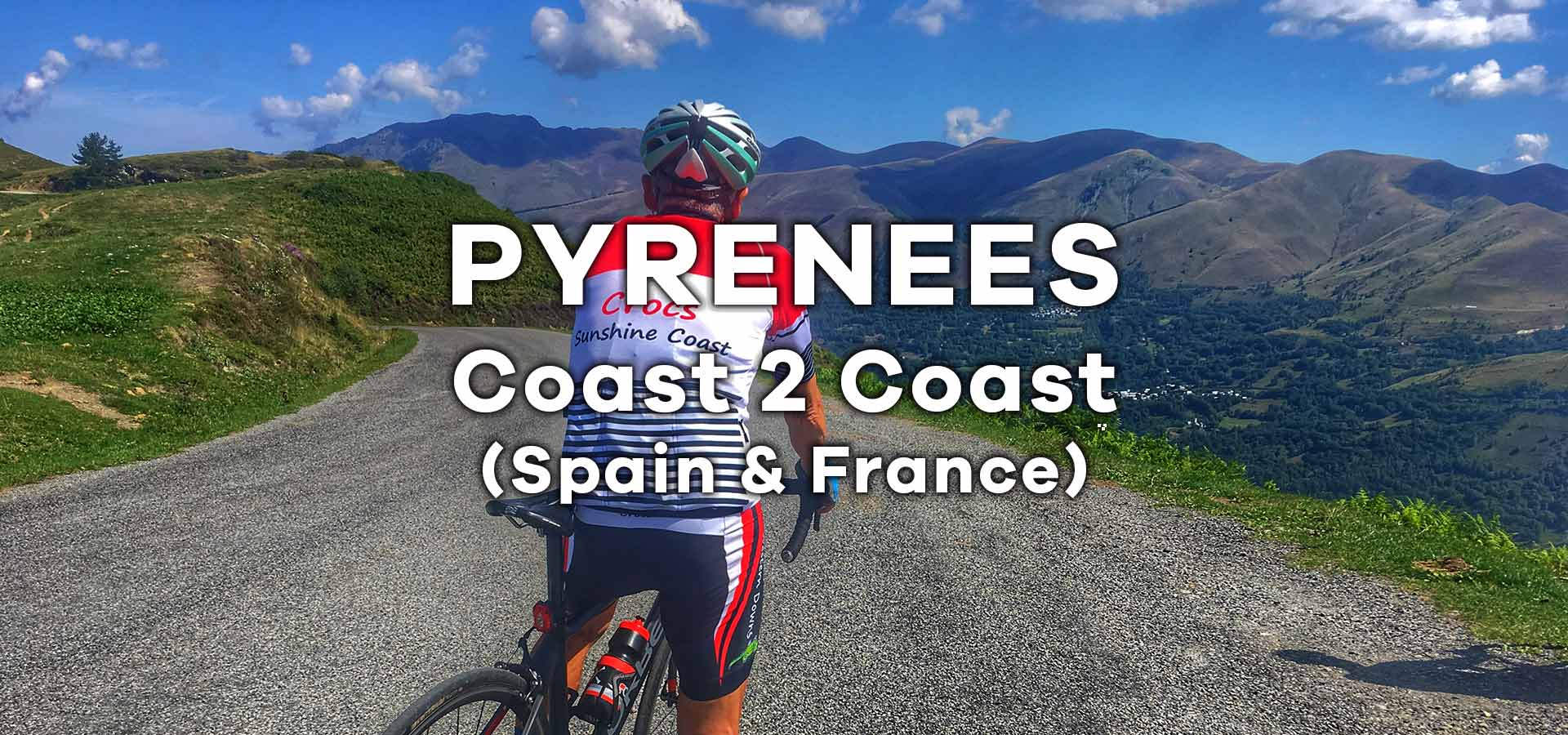 Crossing the Spanish Pyrenees and French Pyrenees by bike