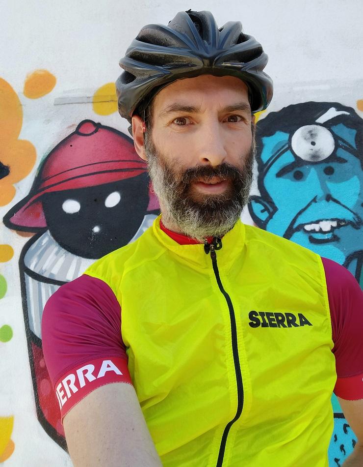Cycling wind stopper vest!