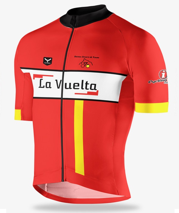La Vuelta spanish cycling jersey
