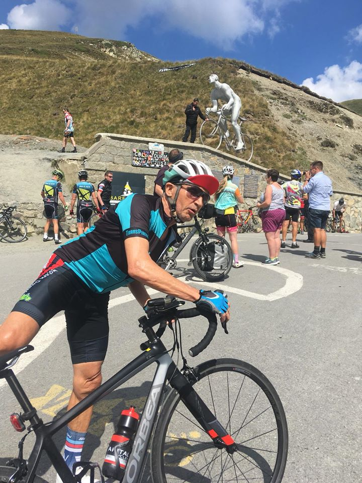 Time to mount the steel horse again on Col du Tourmalet