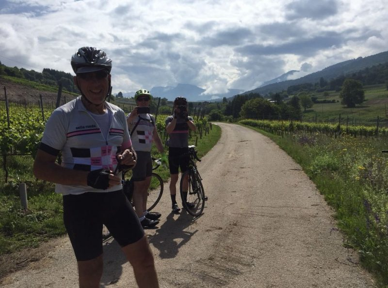 Photos on the way to the famous Sella Ronda cycling route