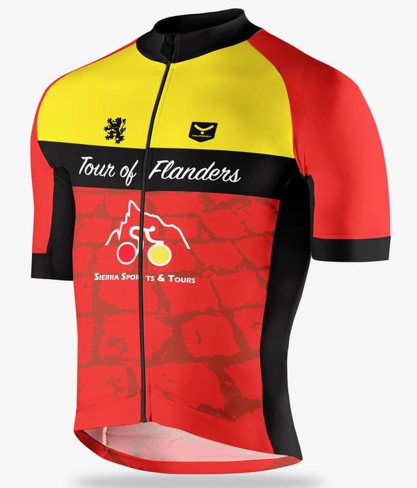 Spring Classics belgium cycling jersey